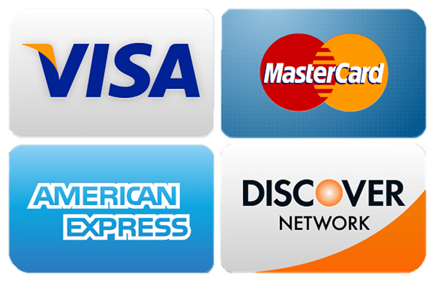 SaniClean Carpet LLC Accepts Major Credit Cards