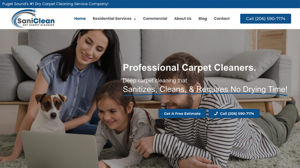 SaniClean Carpet Dry Cleaning